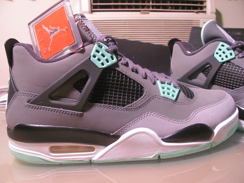 Air Jordan Retro IV - Green Glows | by AsianImage