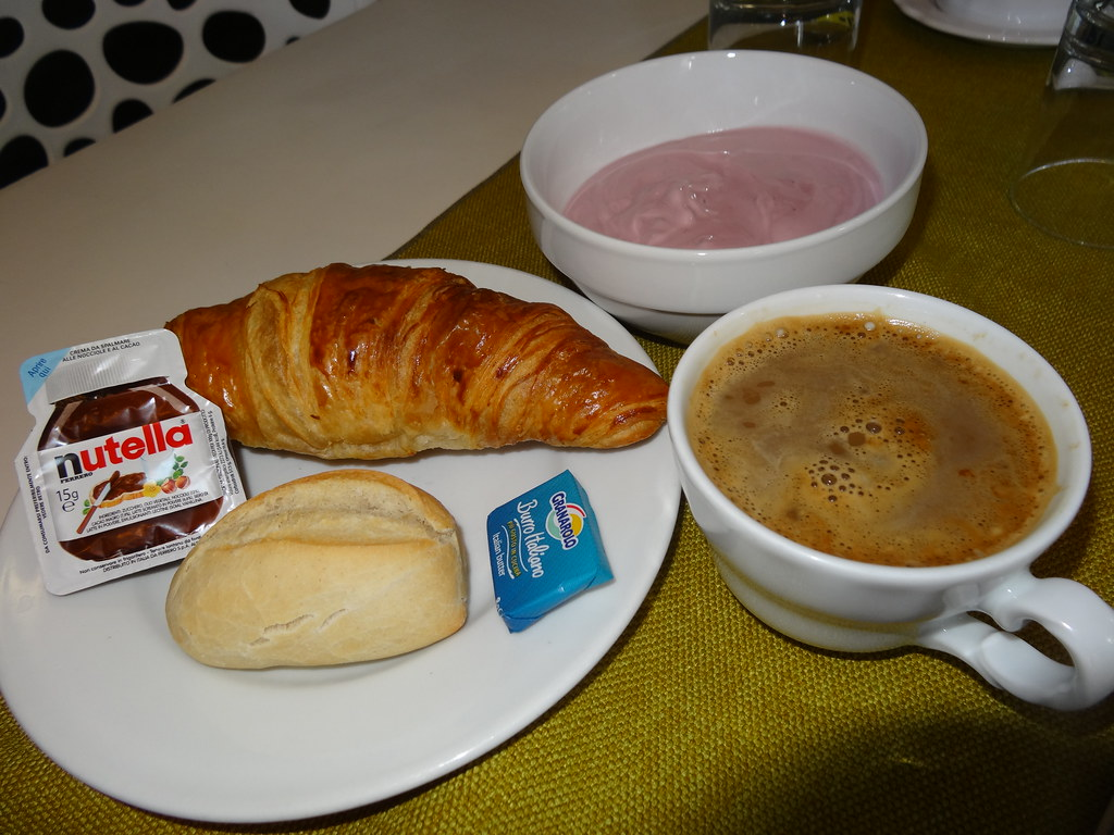 A Typical Continental Breakfast At The Hotel Stella Alpina Flickr - Stella alpina venice
