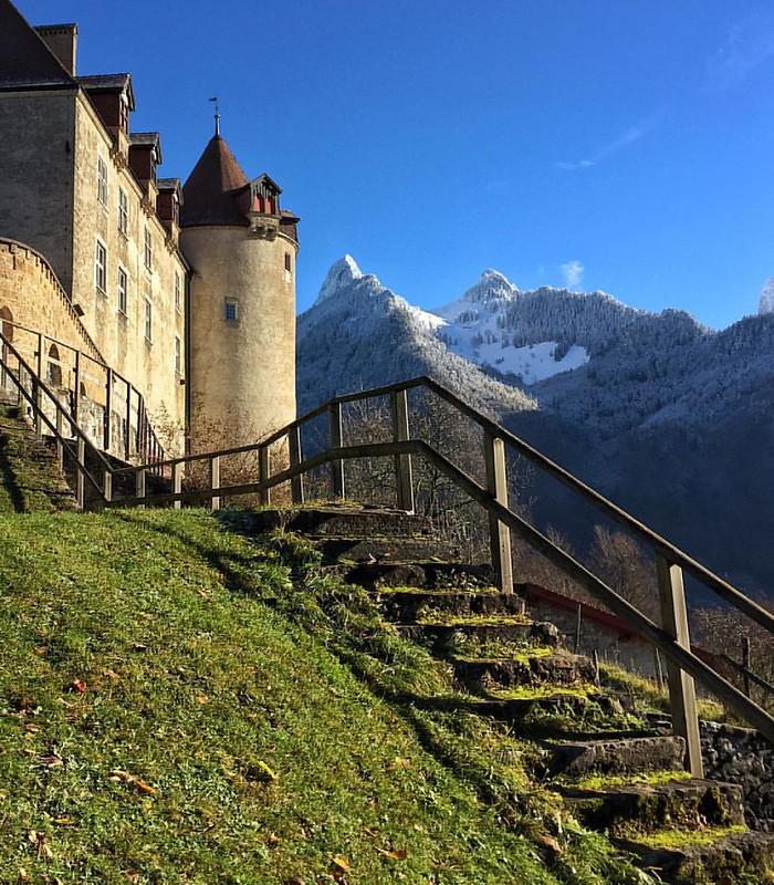 Le château de Gruyères.