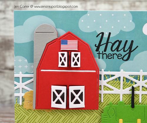 Jen Carter Grandpas Farm Barn Closeup