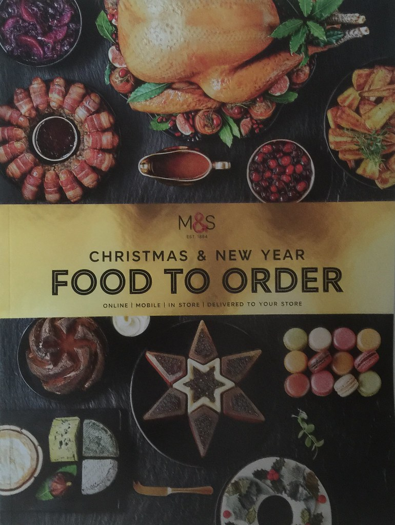 marks spencer ms christmas food to order catalogue gift guide 2016 by firehouse - Christmas Food Catalogs