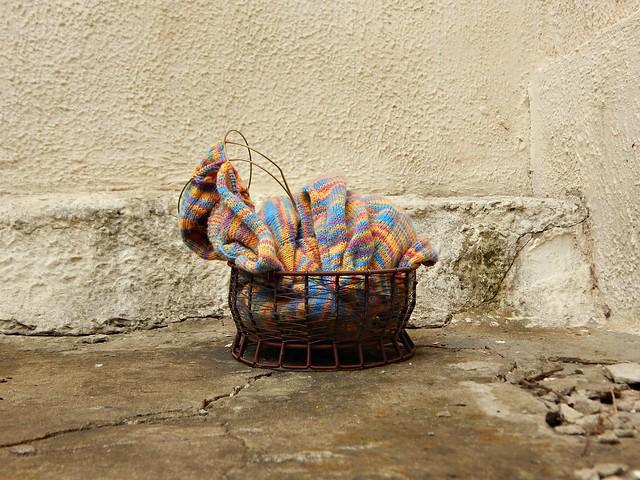 корзинка с вязанием | HoroshoGromko.ru