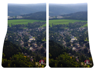 Klingenthal Hyperstereo 3D ::: HDR Cross-View Stereoscopy | by Stereotron