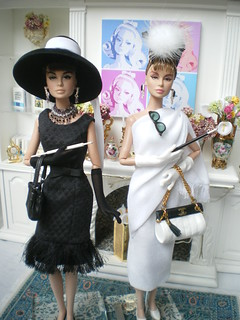 How do I look? and Crazy about Tiffany's Holly Golightly dolls | by Isabelle from Paris