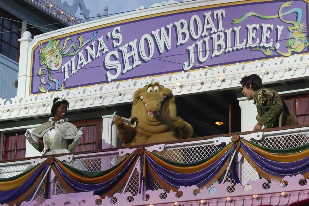 58. Mardi Gras Parade & Tiana's Showboat Jubilee