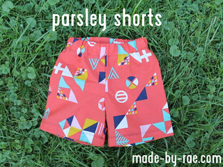 easy parsley shorts | by madebyrae