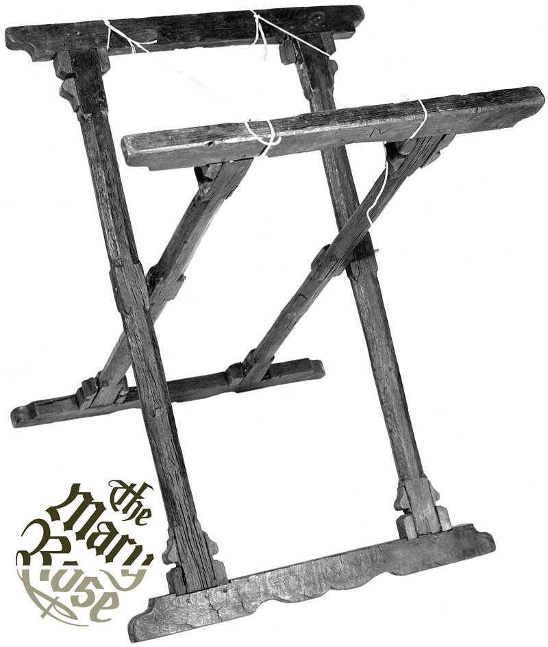 folding table stand this folding stand was found on the ma flickr