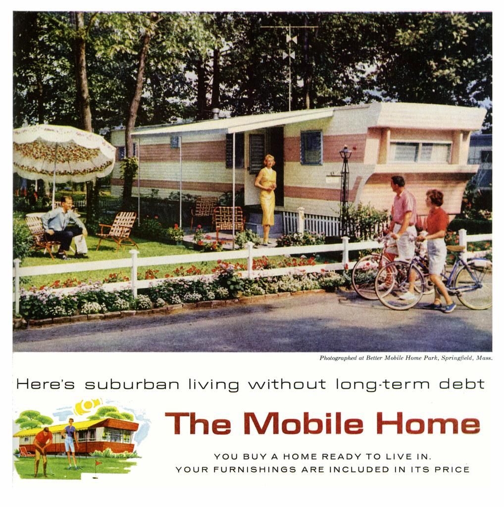 Idylic Trailer Park Life | 1959. | Paul Malon | Flickr on small town life, carnival life, beach life, trailer trash family, family life, bar life,