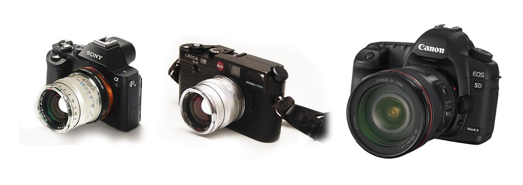 Full Frame Sony A7 vs Leica M & Canon 5D | binoviewer | Flickr