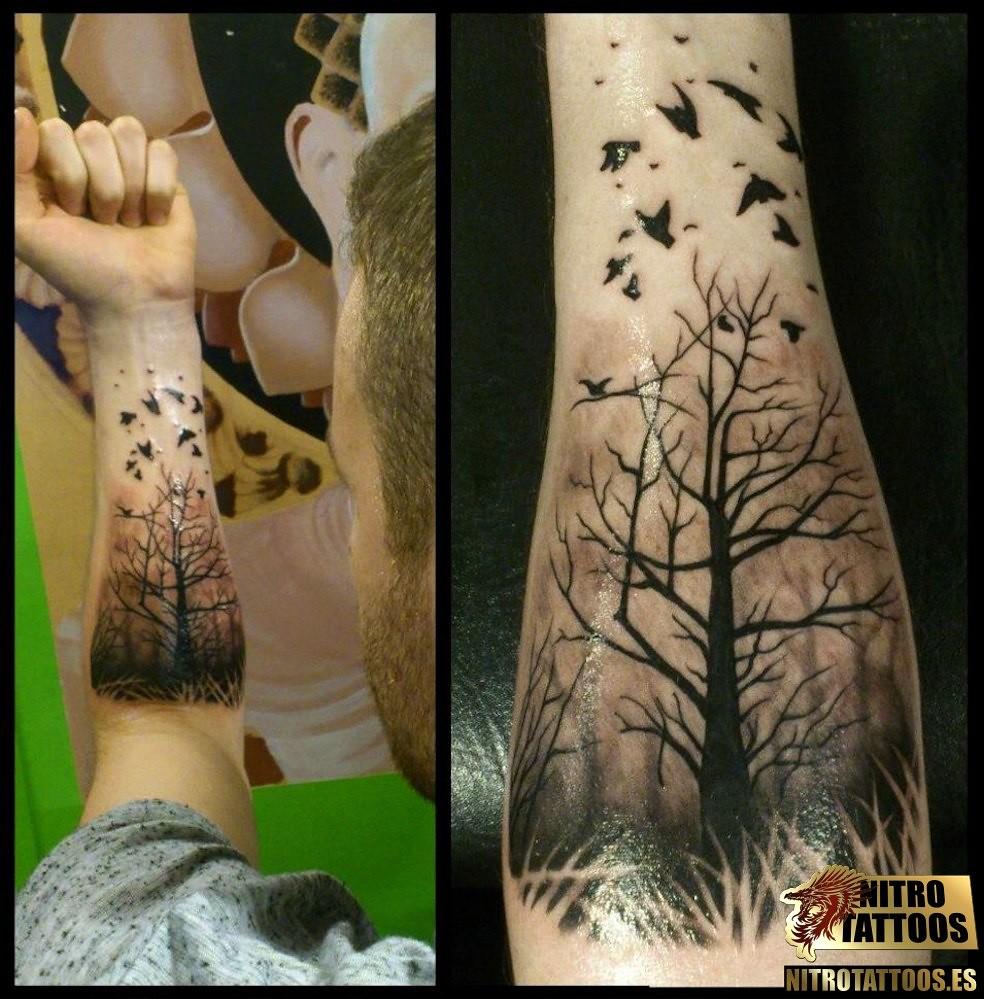 Tatuajes De Arboles Para Hombres Httpwwwnitrotattoos Flickr
