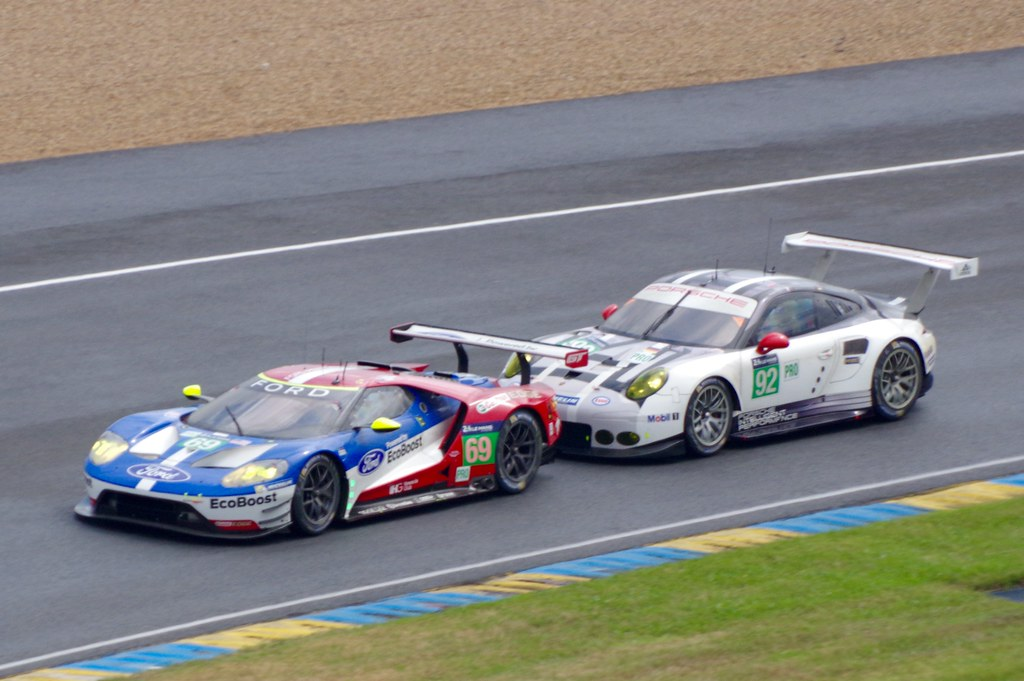 Ford Chip Ganassi Team Usas Ford Gt Ecoboost And Porsche Motorsports Porsche  Rsr By