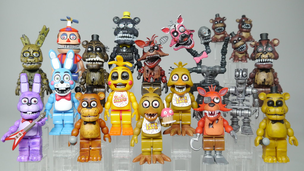 five nights at freddy s all animatronics watch my review flickr