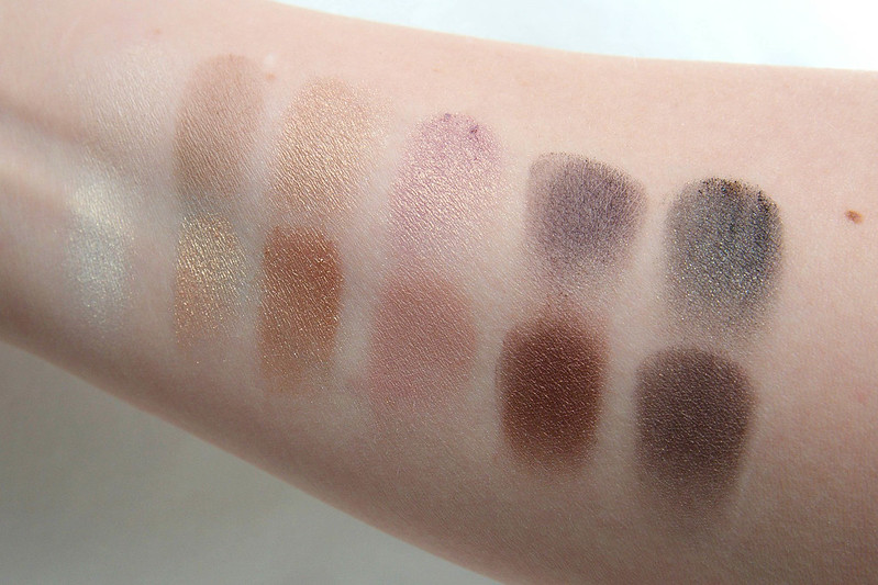 theBalm Nude Dude swatches