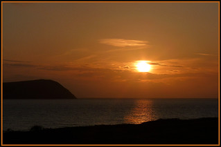 PEMBROKESHIRE SUNSET | by henrhyde (gill) back on internet