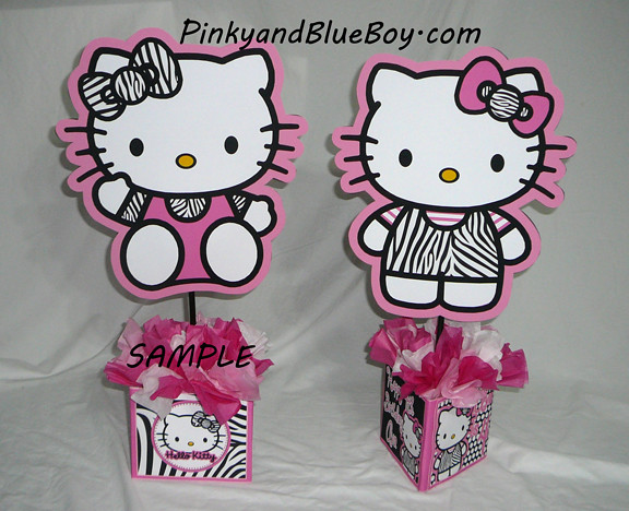 hellokittycharactersbirthdaycenterpiecesdecorationsh Flickr