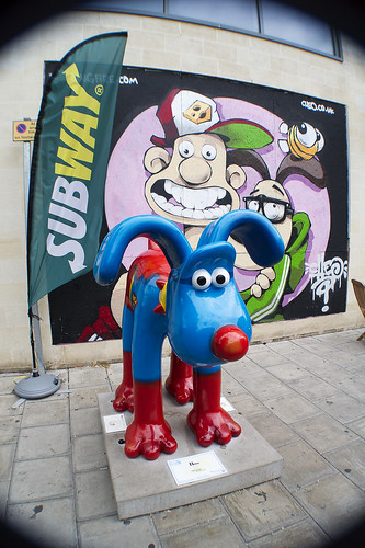 Gromit Unleashed - Hero | by Cris Ward