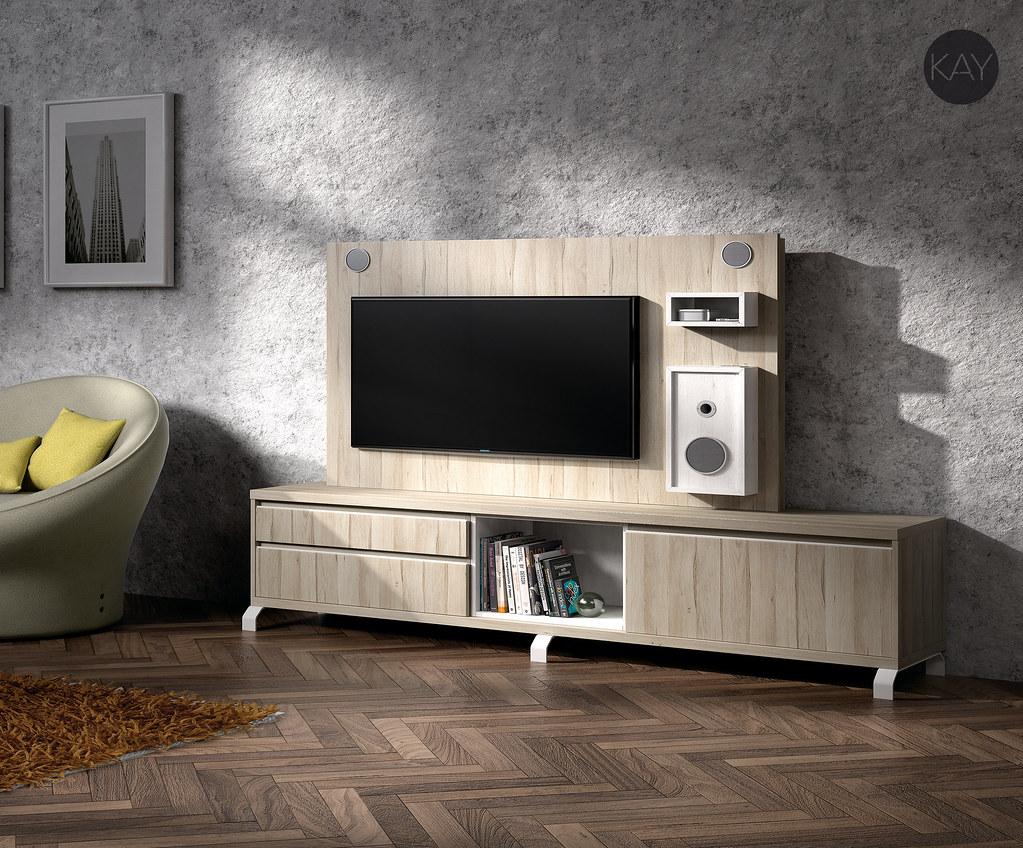 Muebles TV, muebles para la televisión, Paneles tv girator… | Flickr