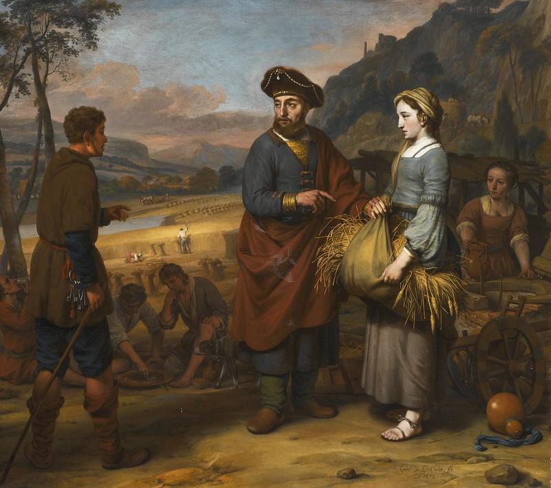 Gerbrand van den Eeckhout - Rurh and Boaz (1672)