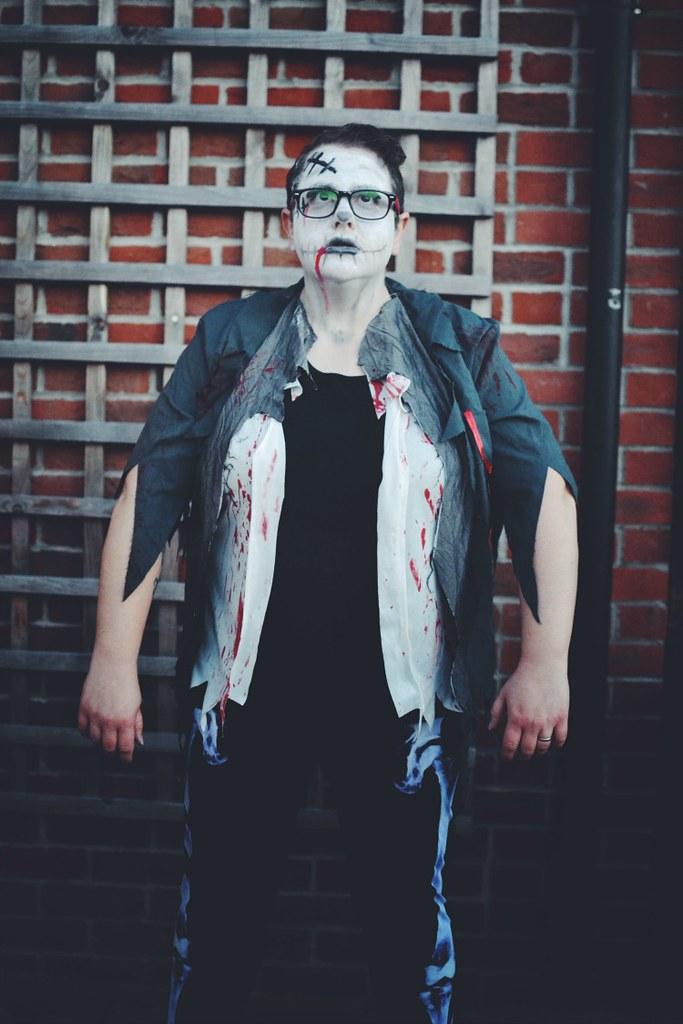 Zombie halloween 2016