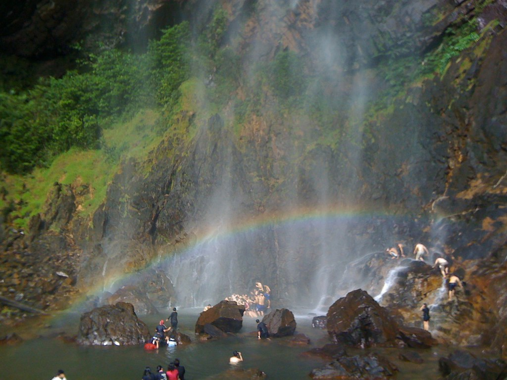Image result for rainbow waterfall pahang
