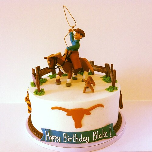 Cowboys Birthday Cake Pics
