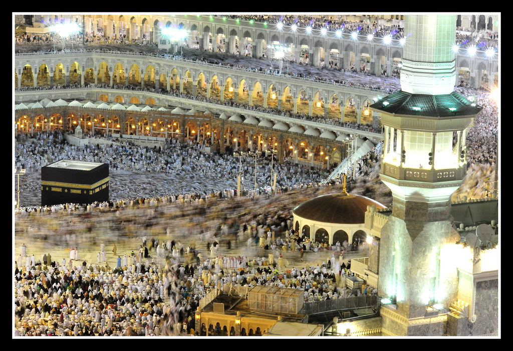 An examination of the Kaba, The Islamic temple and center of their religion.