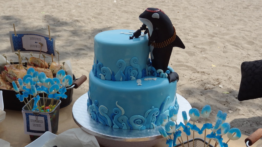 Killer Whale Birthday Cake Nellaine Flickr