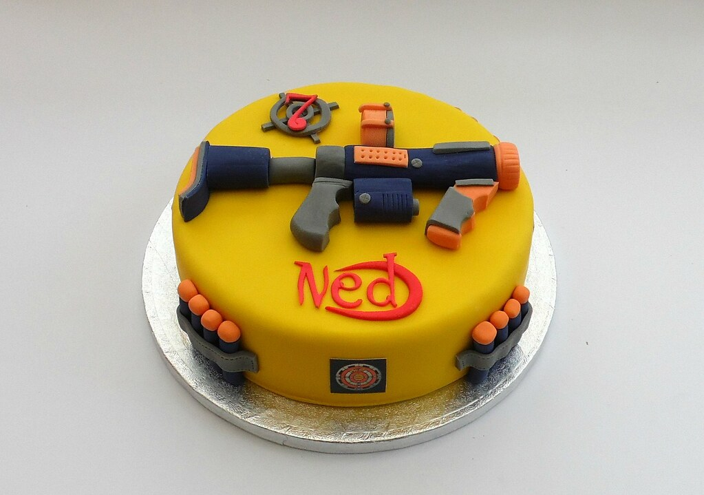 Gorgeous Ideas Nerf Gun Cake And Incredible The 25 Best Gun Cake Ideas On  Pinterest Delicious Cakes