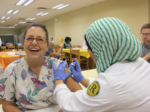 EACPHS Flu Clinic 2013 | by Wayne State University