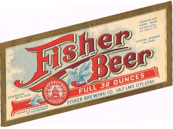 Fisher-Beer--Labels-Fisher-Brewing-Company