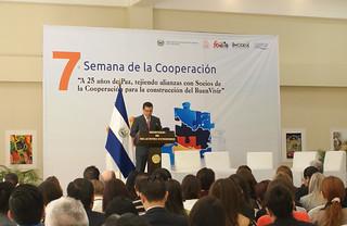 Inauguración de la VII Semana de la Cooperación, realizada por El Ministerio de Relaciones Exteriores, a través del Viceministerio de Cooperación para el Desarrollo