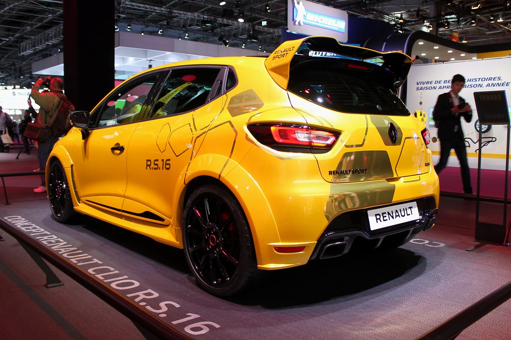 Renault Sport Clio Rs 16 Concept Sbastien Benon Flickr