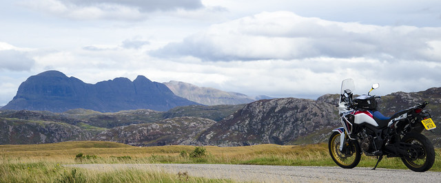 Africa Twin and Suilven