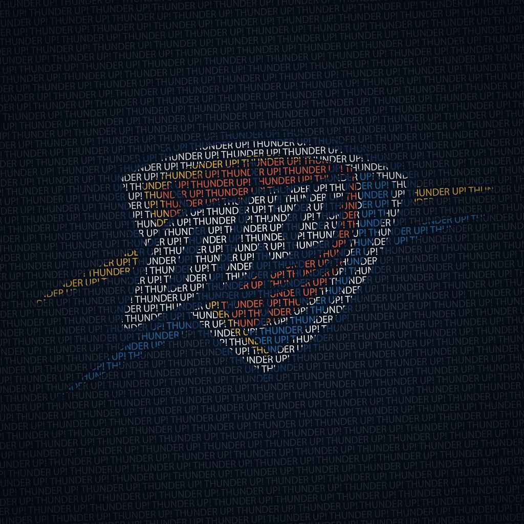OKC Thunder Up IPad Wallpaper
