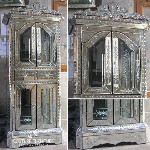 Mirrored Furniture For The Living Room