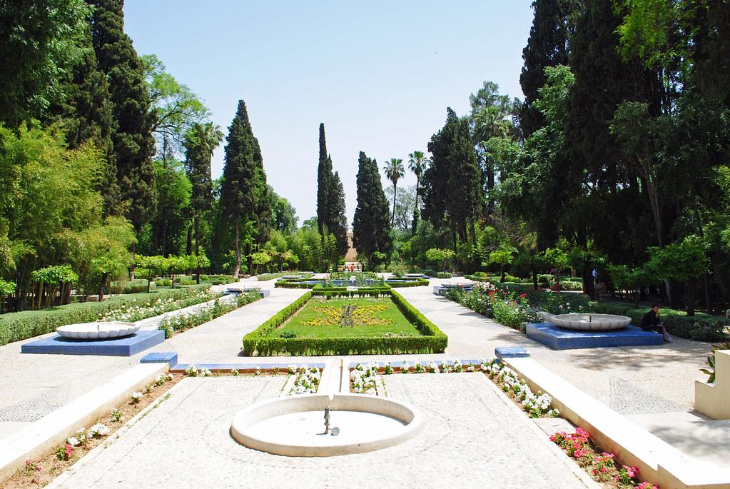 Le parc de Jnan Sbil à Fès au Maroc.