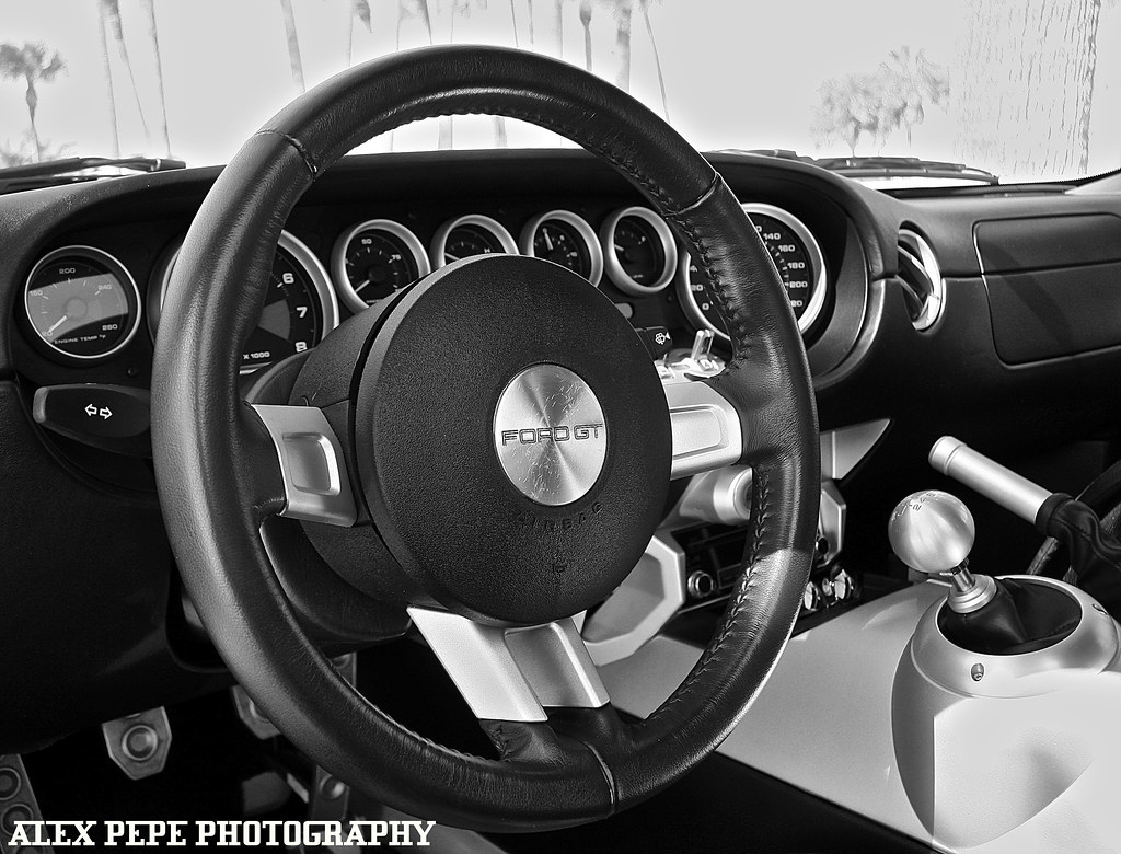 Ford Gt Steering Wheel By Alex Pepe Photography