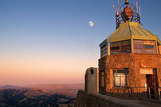 Diablo Summit and Moon | by Matt Grans Photography