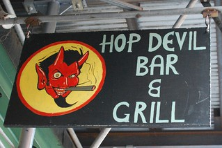 Hop Devil Bar & Grill sign | by Meguiar