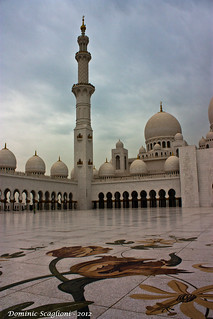 Sheikh Zayed Grand Mosque Courtyard | by Dominic Scaglioni