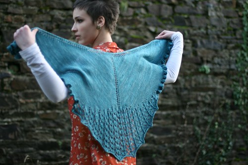heart lace shawl 4 | by Stolen Stitches