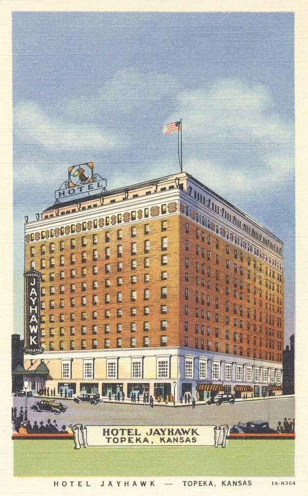 Hotel Jayhawk - Topeka, Kansas
