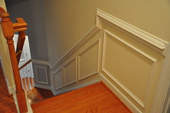 Wainscoting Upstairs | By The Finishing Company Richmond Va ...