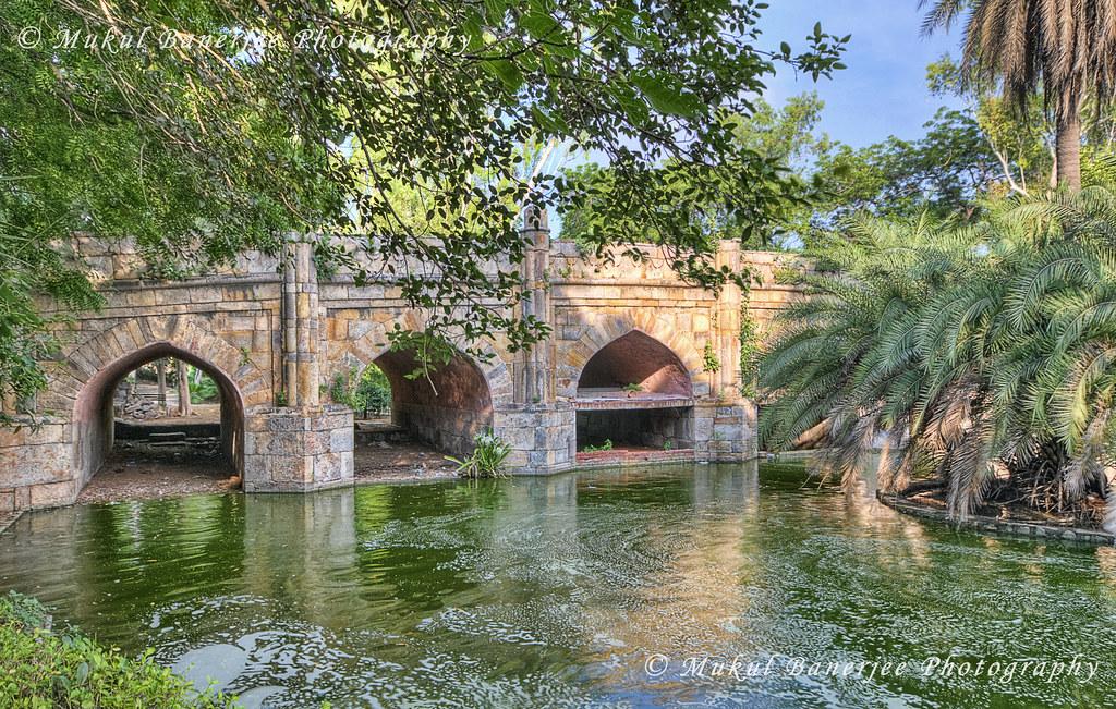 ... Athpula Aka Khairpur Ka Pul, Lodi Gardens, New Delhi | By Mukul  Banerjee (