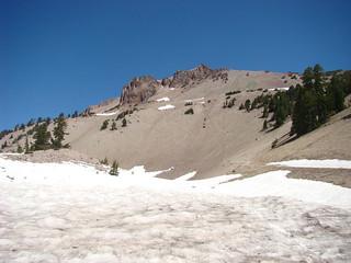 022 Bij parkeerplaats Lassen Peak Trail