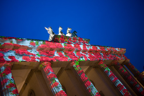 Festival of Lights 2013 - Brandenburger Tor