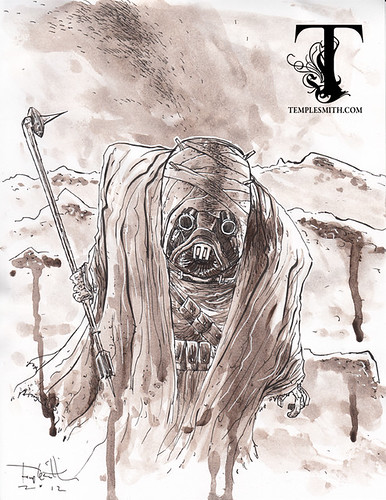 TempleSith Tuesday: Sand People | by Ben Templesmith