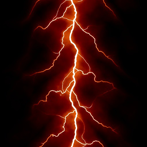 Image result for red lightning
