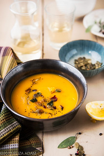 Roasted Squash Soup | by 3liz4