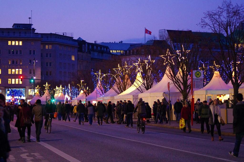 Jungfernstieg Weihnachtsmarkt.Hambourg 305 Jungfernstieg Weihnachtsmarkt Pascal Poggi